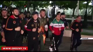 На призыв Рамзана Кадырова активно пропагандировать спорт откликнулись бойцы клуба «Ахмат»