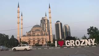 Город Грозный. Мечеть Сердце Чечни