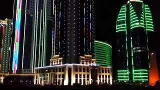 Город Грозный Сити сегодня - Grozny City beautiful view today.