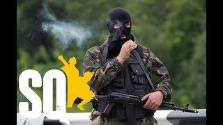 Люди в масках против Вооружённых сил РФ. Мы чеченцы или ополченцы? (Squad)