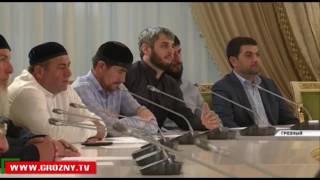 Рамзан Кадыров обсуждал конфликт в Дагестане