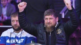 Кадыров и Емельяненко в шоке от Таджика