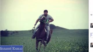 Рамзан Кадыров на коне