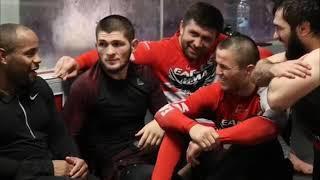 Конфликт Тони Фергюсона и Хабиба Нурмагомедова перед боем UFC 219