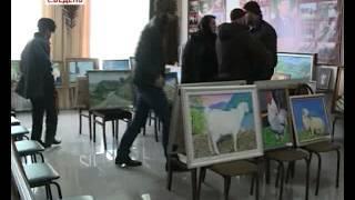 Выставка работ Зайнди Аласханова