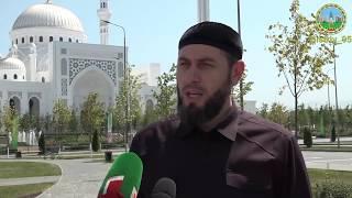 Лёма Хашуев - призыв на пятничную молитву в мечеть Гордость Мусульман