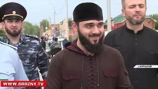 Рамзан Кадыров  посетил Курчалой с ознакомительной поездкой