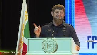 Рамзан Кадыров принял участие в праздновании 10-летия Грозненского Суворовского военного училища